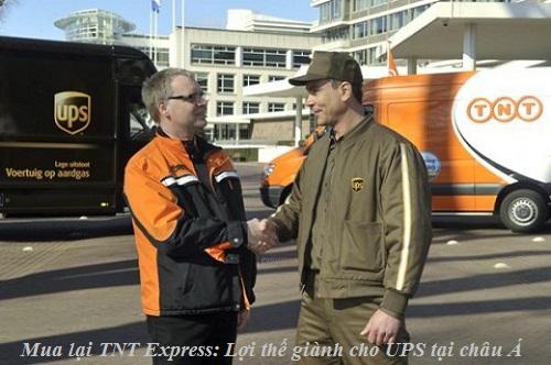 Mua lại TNT Express: Lợi thế giành cho UPS tại châu Á